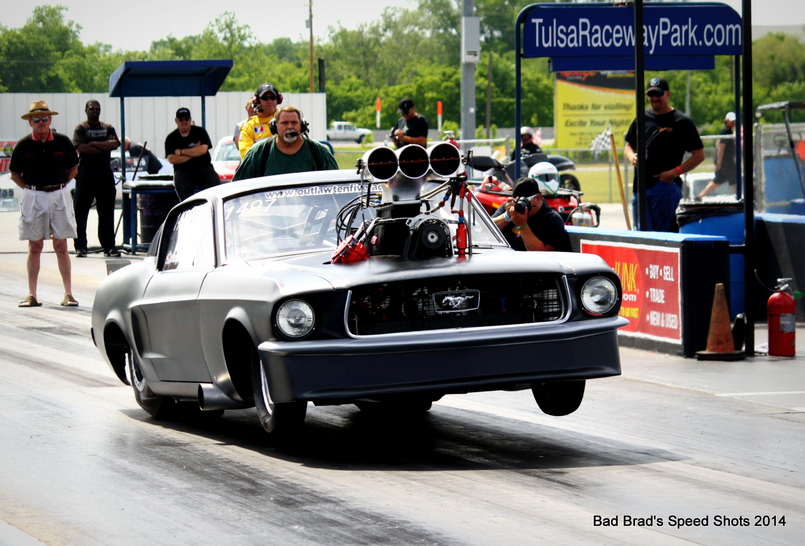 The 2014 Spring Throwdown In T-Town – Drag Action At The Biggest Event In The History Of Tulsa Raceway Park