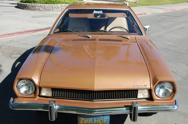 World's Cleanest Pinto 5