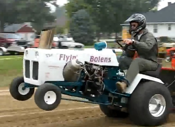 The Flyin' Bolens Is A Turbine Powered Lawn Tractor Puller From Hell