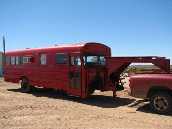 Craigslist Find: The Most Genius Use For An Old School Bus Ever – Conversion Trailer Greatness