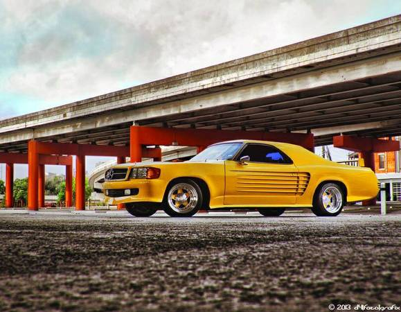 We Should Hate This Mercedes Nosed, Yellow, Big Block Powered 1973 El Camino But We Can't