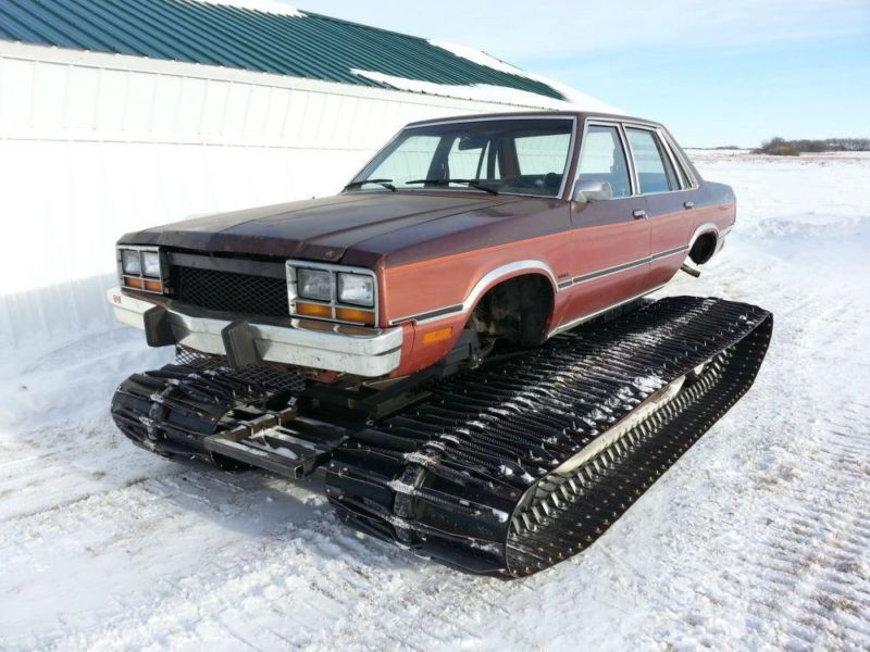 This Tank Tracked 1978 Ford Fairmont Is Way Cooler Than Any LS Swapped Fairmont We Have Ever Seen