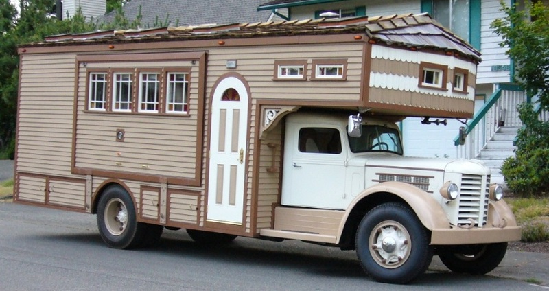 This 1951 Federal House Truck Is The Most BangShift Approved Home On Wheels We've Ever Seen