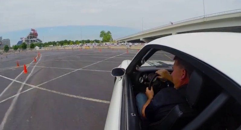 Watch Autocross Ninja Brian Finch Attack The Cones In His Completely Nasty Camaro At Goodguys Nashville – Screaming V8 Sound