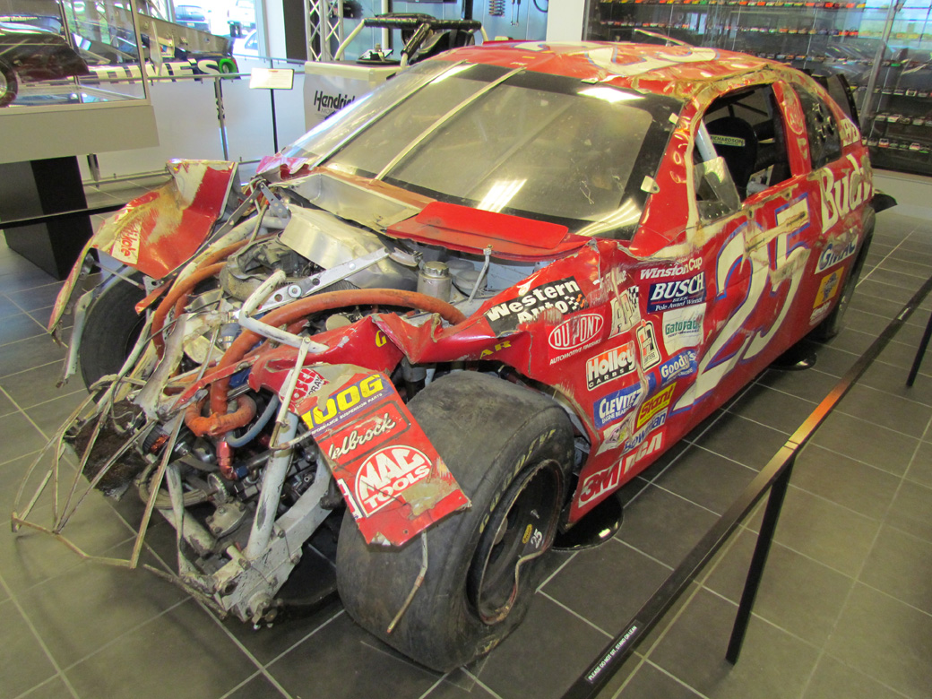 A BangShifty Look Inside Hendrick Motorsports – Race Cars, Parts, Wrecks, Trophies, And More!