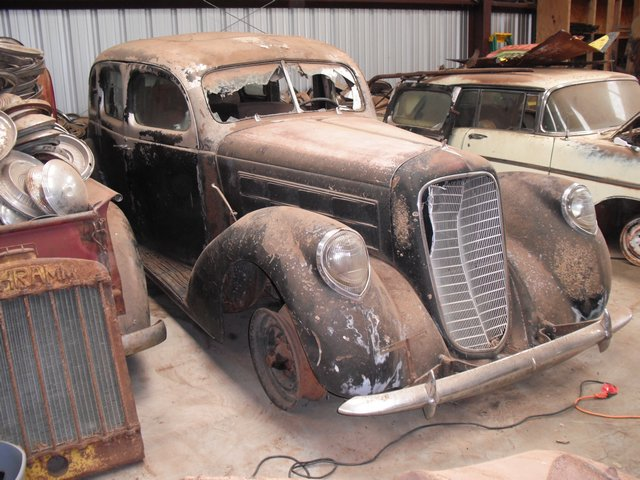 An Angry Old Guy In Oklahoma Closed His Junkyard In 1953 And Now The Entire Jordon Collection Has Come Up For Auction