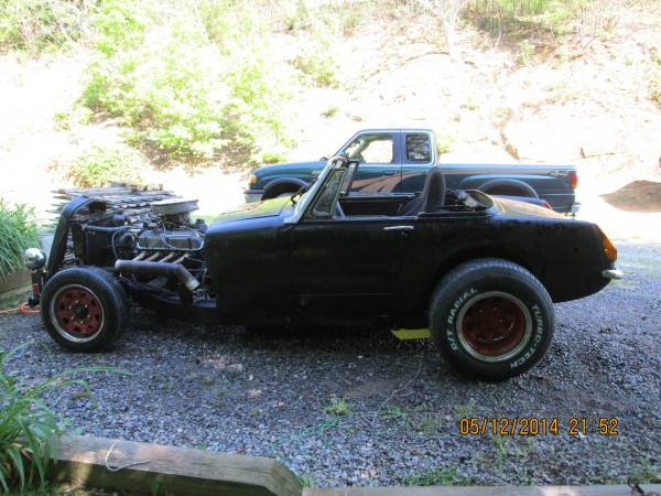BangShift.com 1973 MG Rat Rod