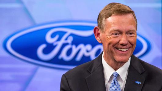Alan mulally announces retirement from ford for Ford motor company alan mulally