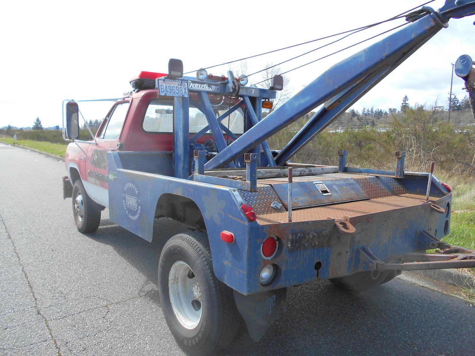BangShift 1978 Dodge Power Wagon Tow Truck