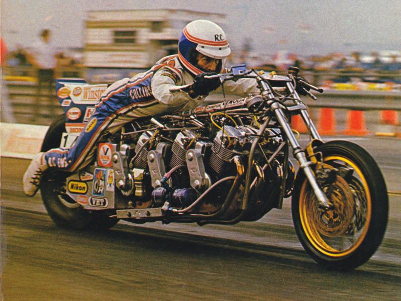 Top Fuel Motorcycle Racing Legend Russ Collins Has Died: Multi-Engine Nitro Bikes, World Record Setter, Innovator