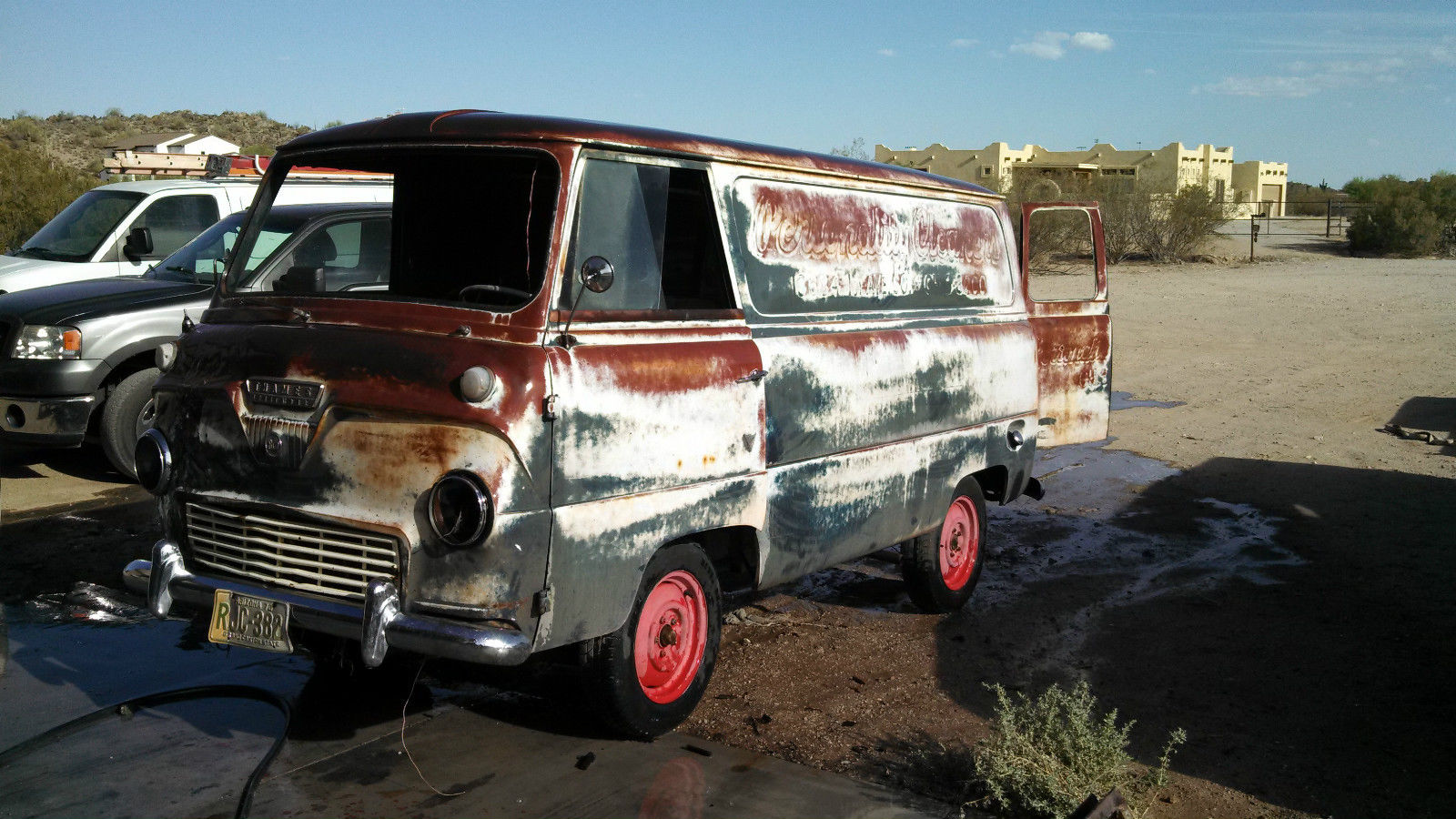 eBay Find: This 1957 Thames 800 Freightliner Van Is The Only One We Have Ever Seen And Ripe For BangShifting