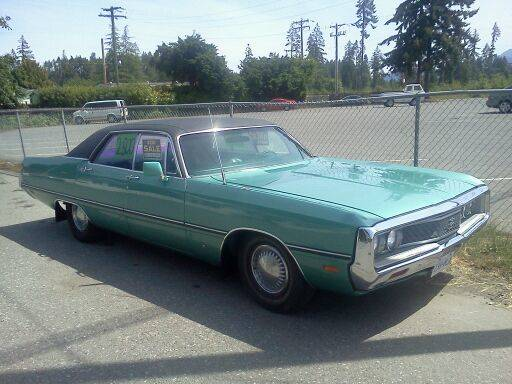 Rough Start: Big Green Chrysler From the Big Green North