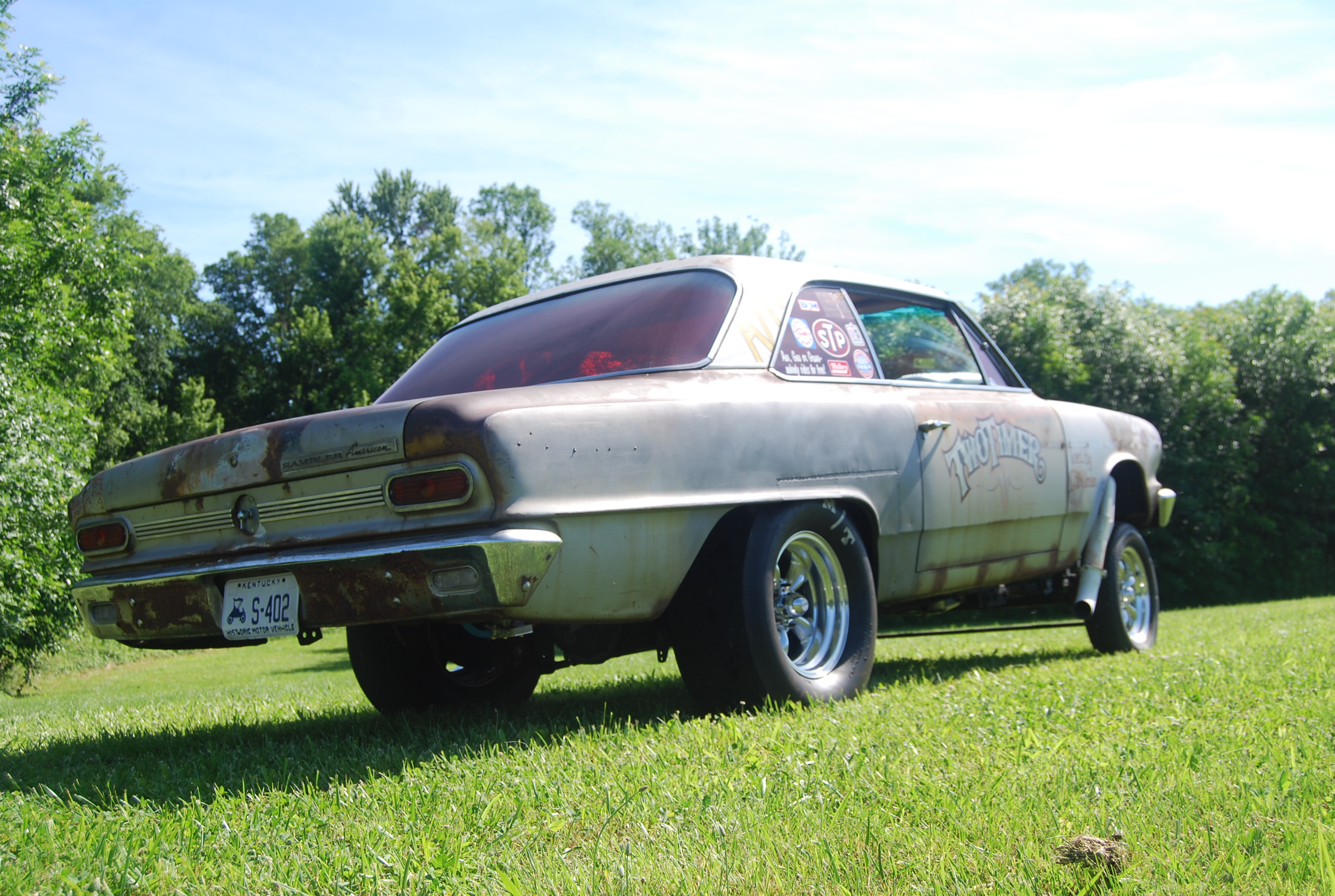 """2014 Holley National Hot Rod Reunion Feature Car: The """"Two Timer"""" 1964 Rambler American"""