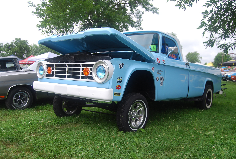 2014 Holley National Hot Rod Reunion Feature Car: 1967 Dodge D100 Gasser