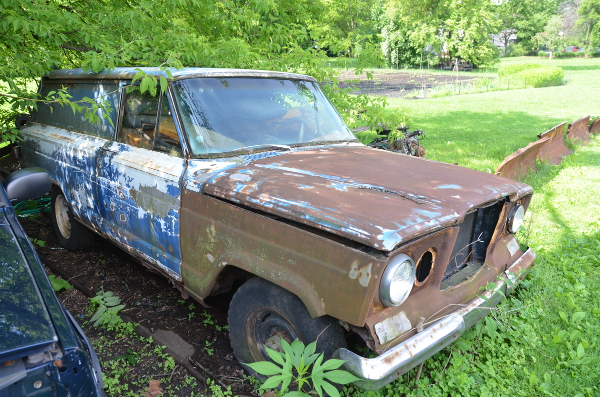 This Overgrown And Languishing Jeep Is Amazingly Rare And In Darned Good Shape For Living In A Veritable Jungle