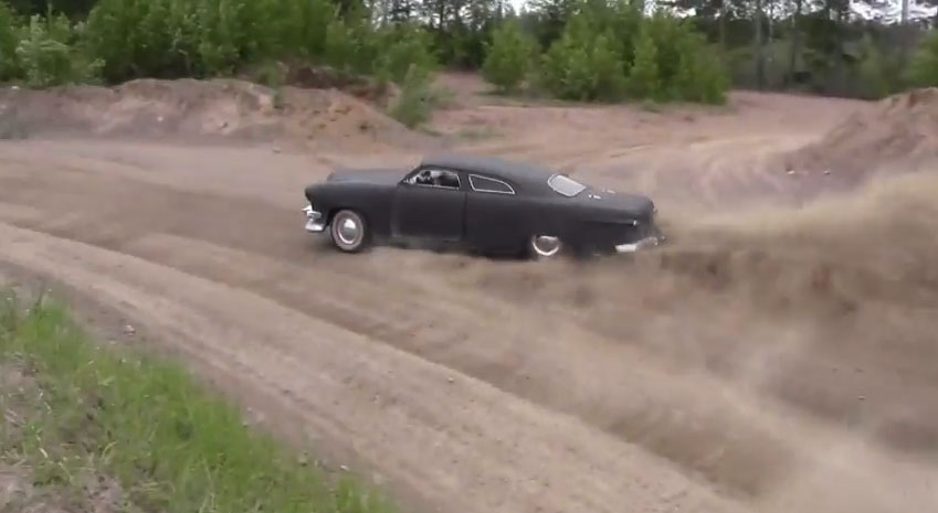 Keep Your WRX or EVO, We'll Take This Chopped 1949 Ford As Our Dirt Car Of Choice!