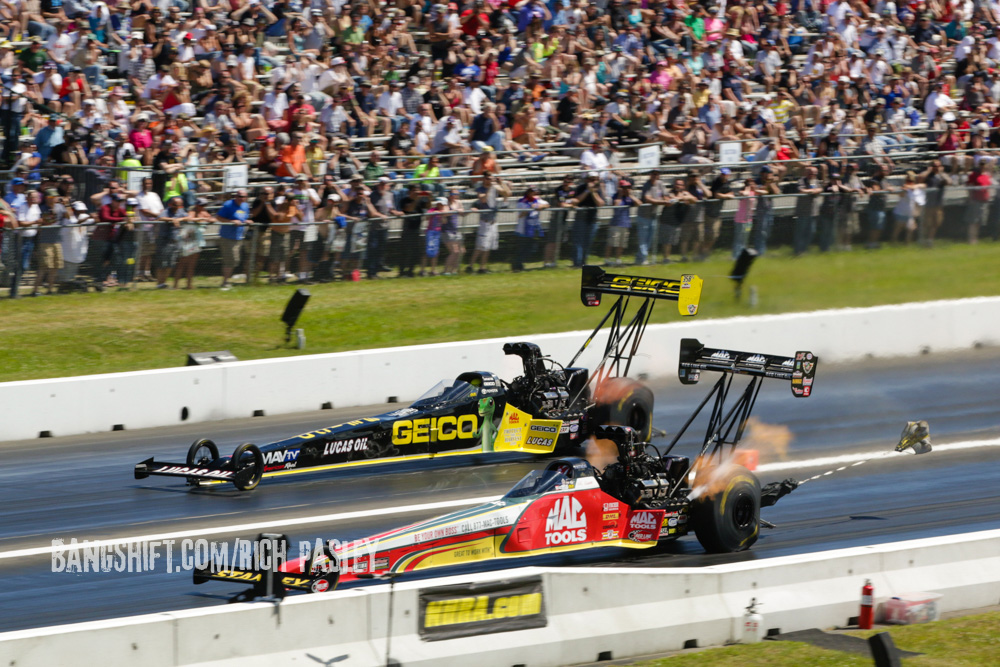 Even More Awesome Photos From The NHRA New England Nationals: Sunday's Pro Sessions And More.