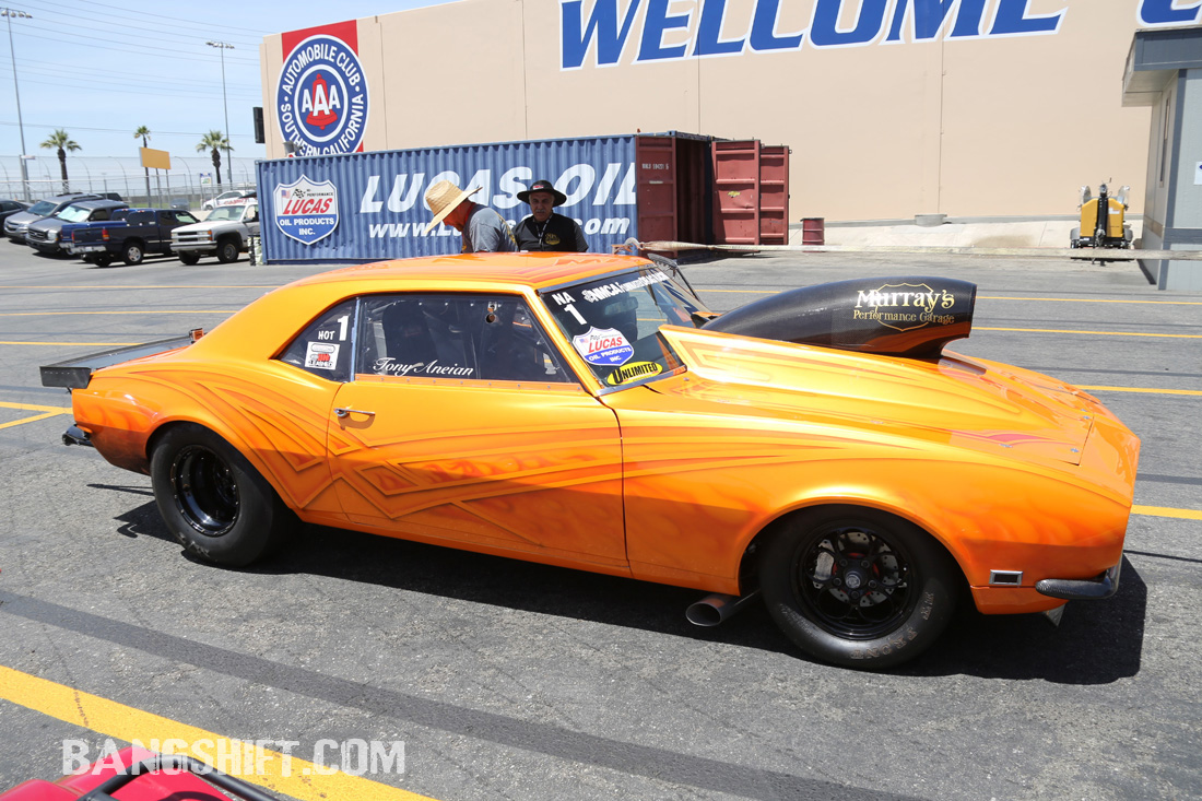 Behind The Scenes Pit Shots From The NMCA West Drag Racing Series In Fontana