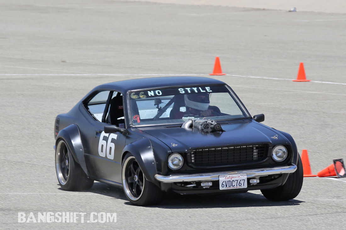 More On-Track Tire Thrashing Action From The Hotchkis Autocross At The NMCA West Coast Shootout