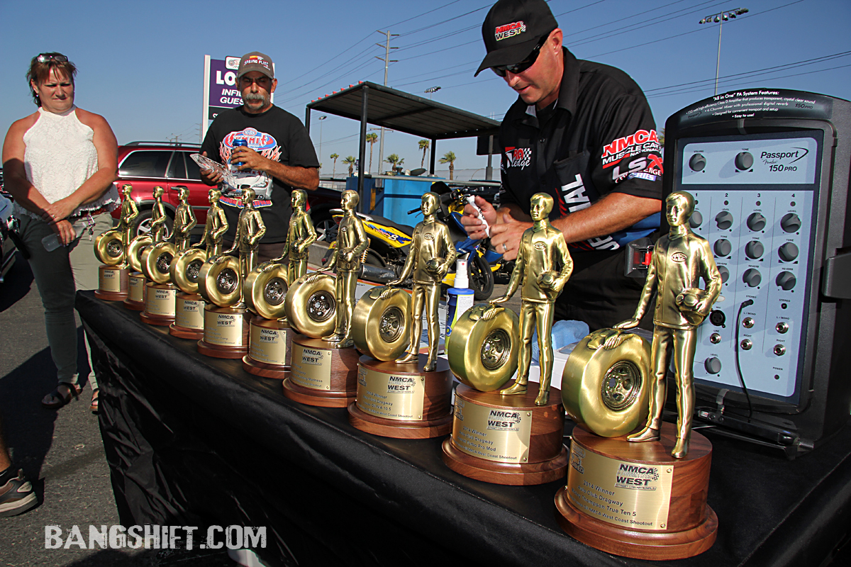 NMCA West JE Pistons West Coast Shootout Winners Circle Photos