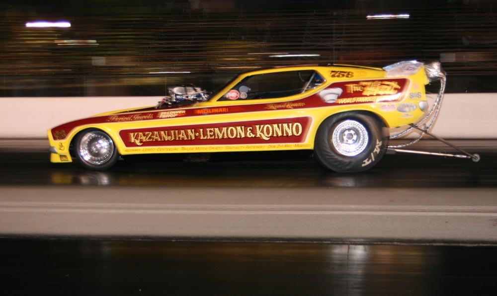 Nitro Cars Test For Famoso's Saturday Night Nitro