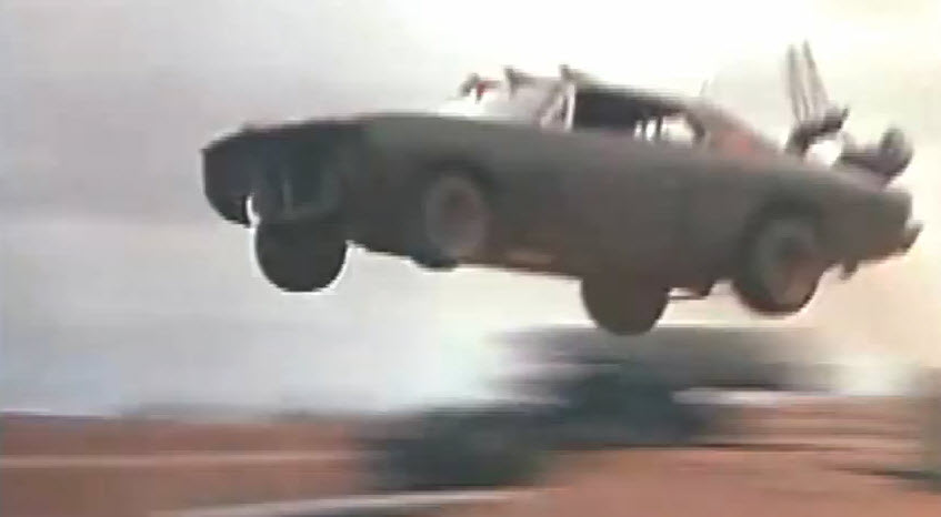 How to do stunts like Mad Max 2 – Step 1: Be prepared to hurt yourself