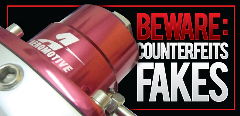 Aeromotive Calls Out The Crooks! Beware Of Fake Aeromotive Fuel Systems Components