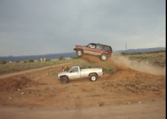 Watch Amazing Levels Of Dumb Luck Turn A Disaster Into The Cleanest Amateur Truck Jump Ever