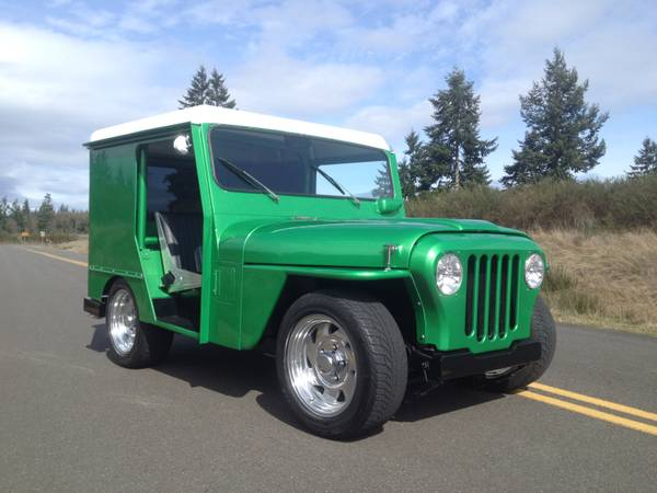 This Small Block Ford Powered, Sort Of Pro Touring 1971 Mail Jeep Is The Coolest Hot Roddy Mail Jeep We've Seen