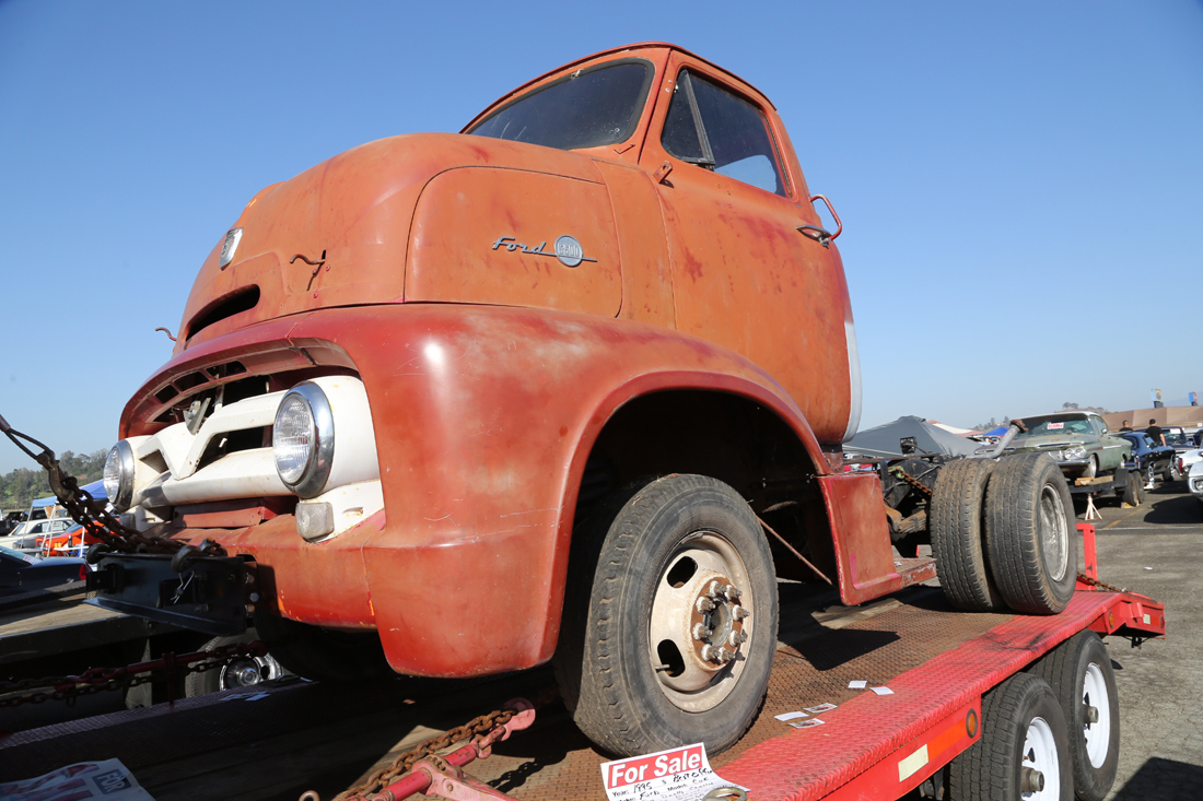 More Sweet Trucks From The Pomona Swap Meet – We Hate These West Coast Guys For All Their Clean Stuff!