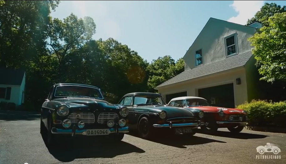 Petrolicious Video: A Shelby Powered Sunbeam Tiger, A Warmed Up Volvo Amazon, And An MG Make Up A Trifecta Of Coolness
