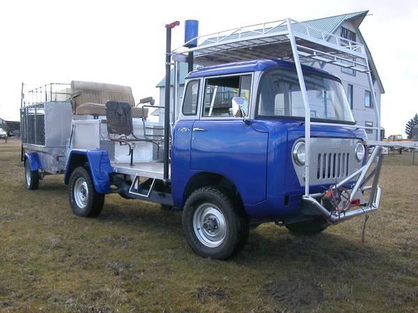 1959 jeep forward control truck. Black Bedroom Furniture Sets. Home Design Ideas
