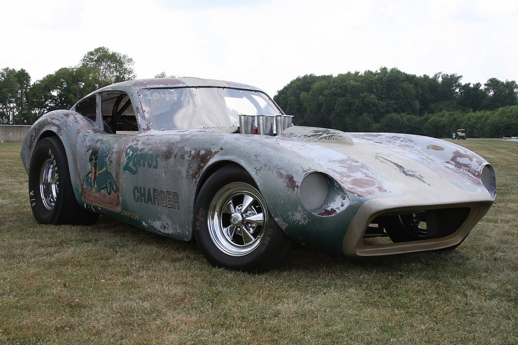 Zorro's Charger – A Patina'd 1960s Gasser That Goes 10s and Takes Our Breath Away