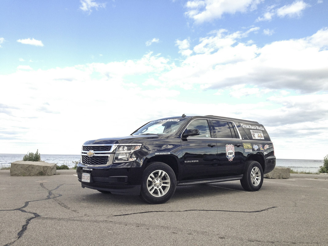 Great Race Adventure 2014 Part Three: The Workhorse 2015 Chevy Suburban