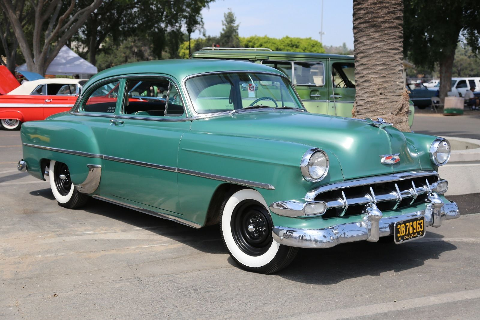 Bangshift com if you want a nice 1954 chevy this is it we know the car so cal cruiser