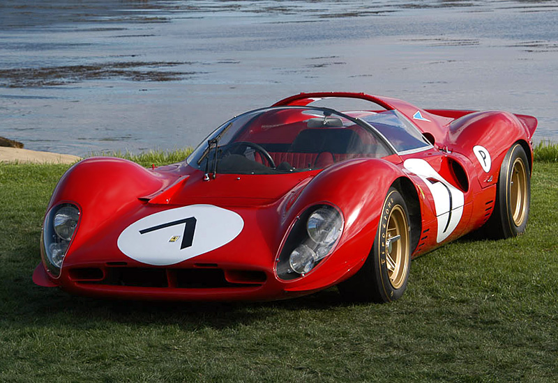 Watch And Listen To The Only Original Ferrari 330 P4 On The Track Courtesy Of Petrolicious-Automotove Aural Nirvana!