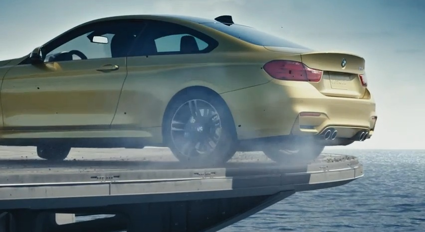 Watch BMW Turn An Aircraft Carrier Into The Ultimate Racetrack… Or Did They?