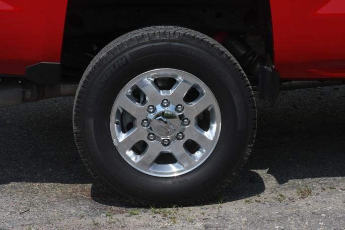 Chevy Silverado crew cab LTZ 2500 2014 victory red004