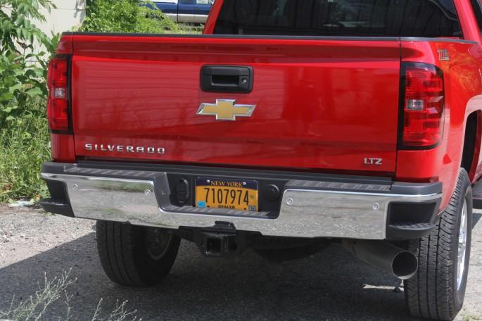 Chevy Silverado crew cab LTZ 2500 2014 victory red008