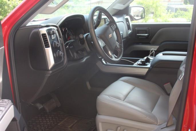 Chevy Silverado crew cab LTZ 2500 2014 victory red024