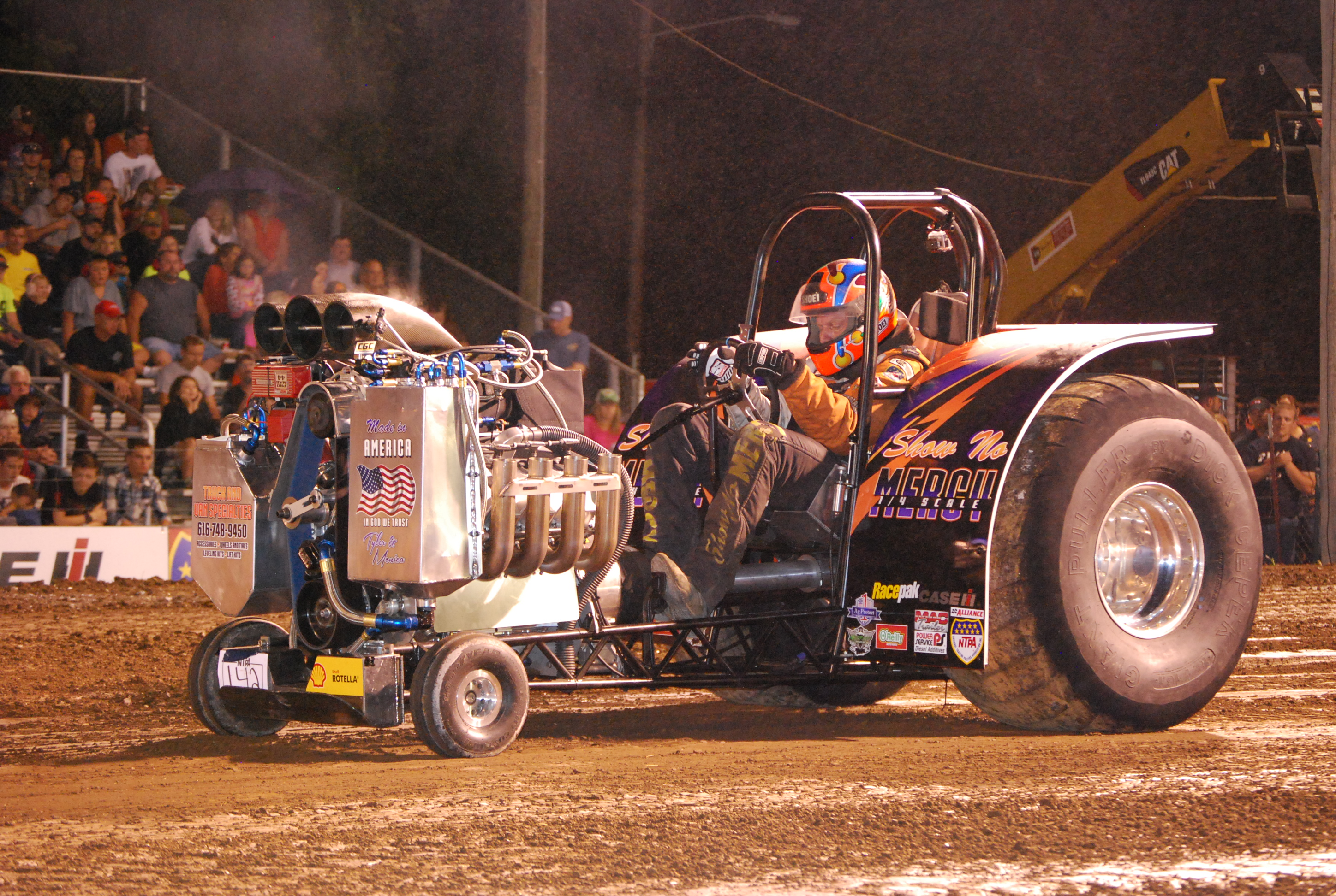 Mini Mod Tractor Pulling : Bangshift lions super pull of the south