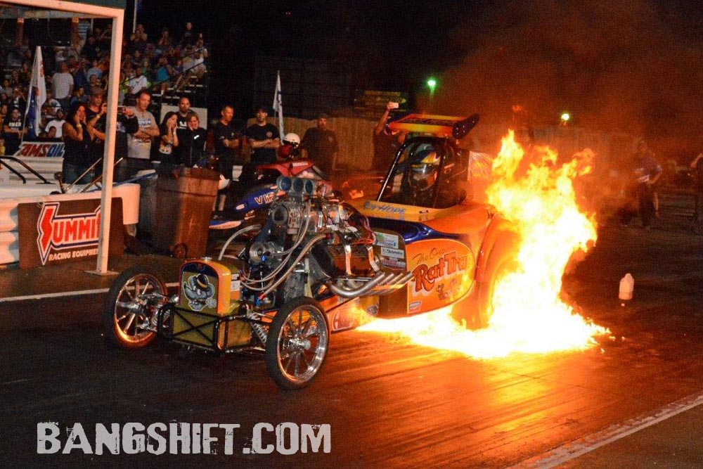 Action Photos And Results From Cordova IHRA Nitro Jam- Full Five Second Field In Nostalgia Funny Car