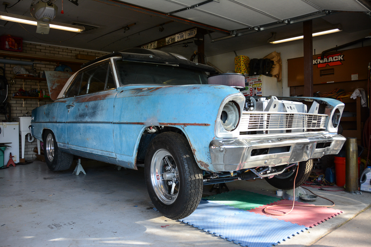 This Patina Perfect 1966 Chevy II Nova Has Lived Its Life In El Paso And It'll Be Terrorizing Drag Week This Year – Build Photos Here
