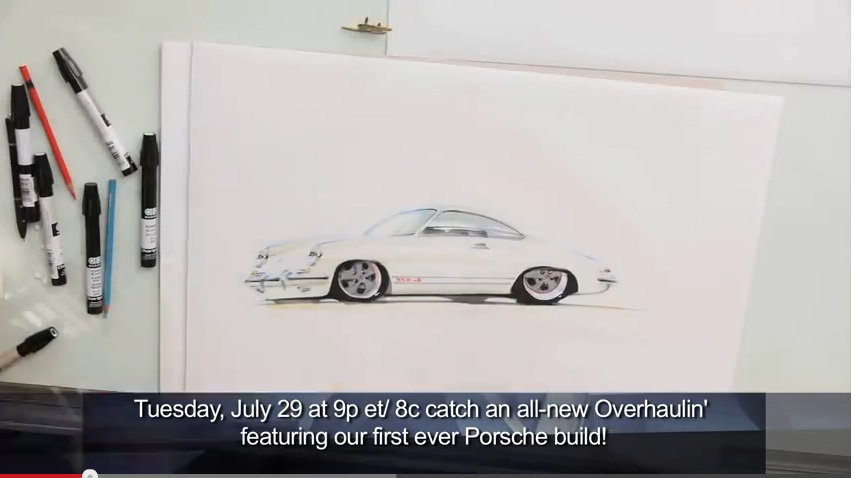 It's Dream Car Week On Velocity, And That Means Two New Episodes Of Overhaulin' Tonight