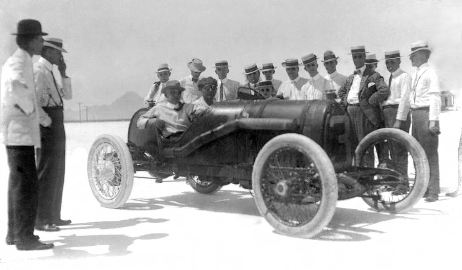 STARTING TOMORROW: The Salt Flats Of Salduro – Our Incredible Series Documenting The First Racing At Bonneville, 100 Years Ago
