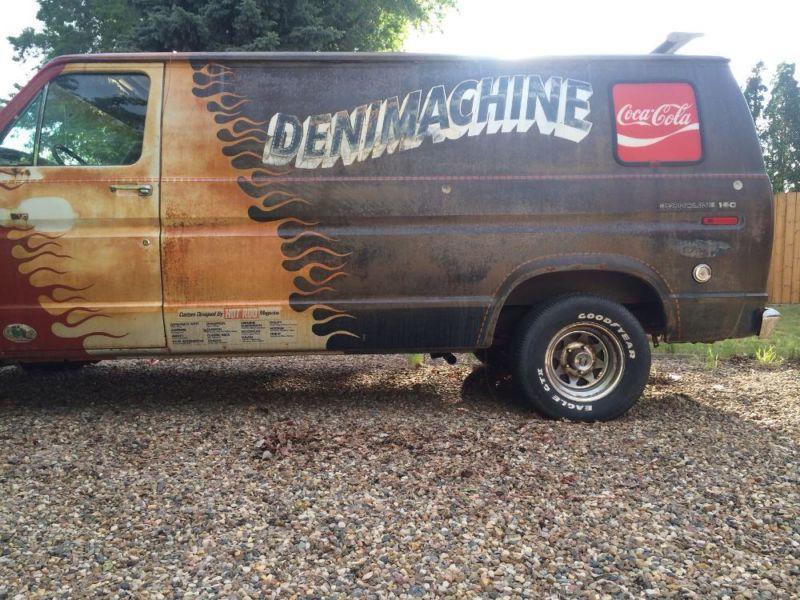 Bangshift Com Denimachine Van