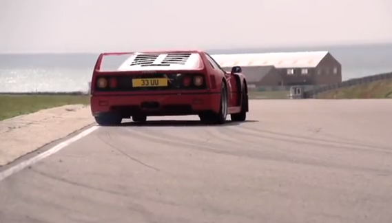 Watch A Ferrari F40 and F50 Get Thrashed On A Beautiful Road Course: Pure Auditory Perfection