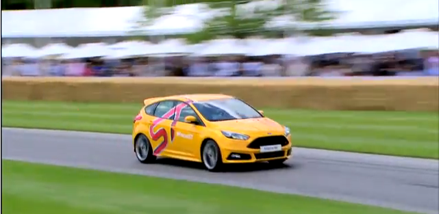 Video Game Vs. Real Life: Watch A Real Focus ST Battle With A Virtual Focus ST-Plus The (former) Stig