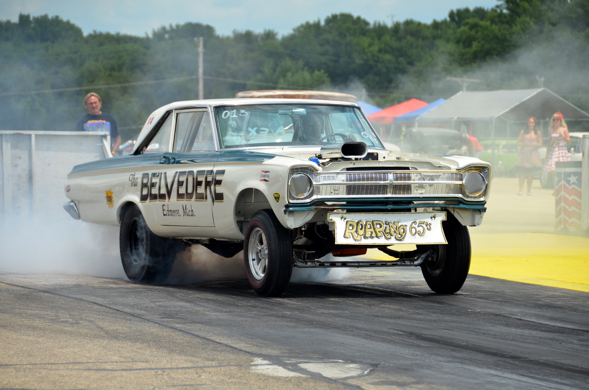 Meltdown Drags 2014 Coverage: Byron Was Jammed With The Coolest Old School Drag Iron In The Country