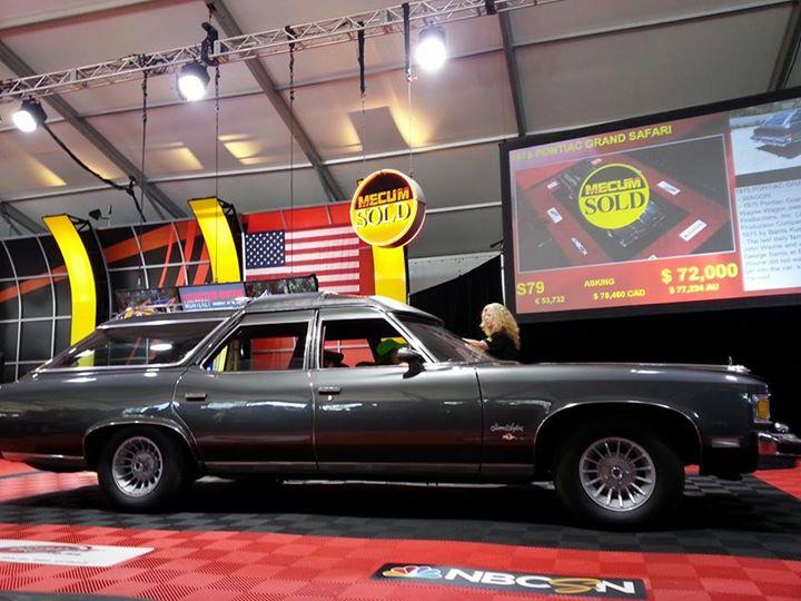 Story Update: John Wayne's 1975 Pontiac Wagon Sells For